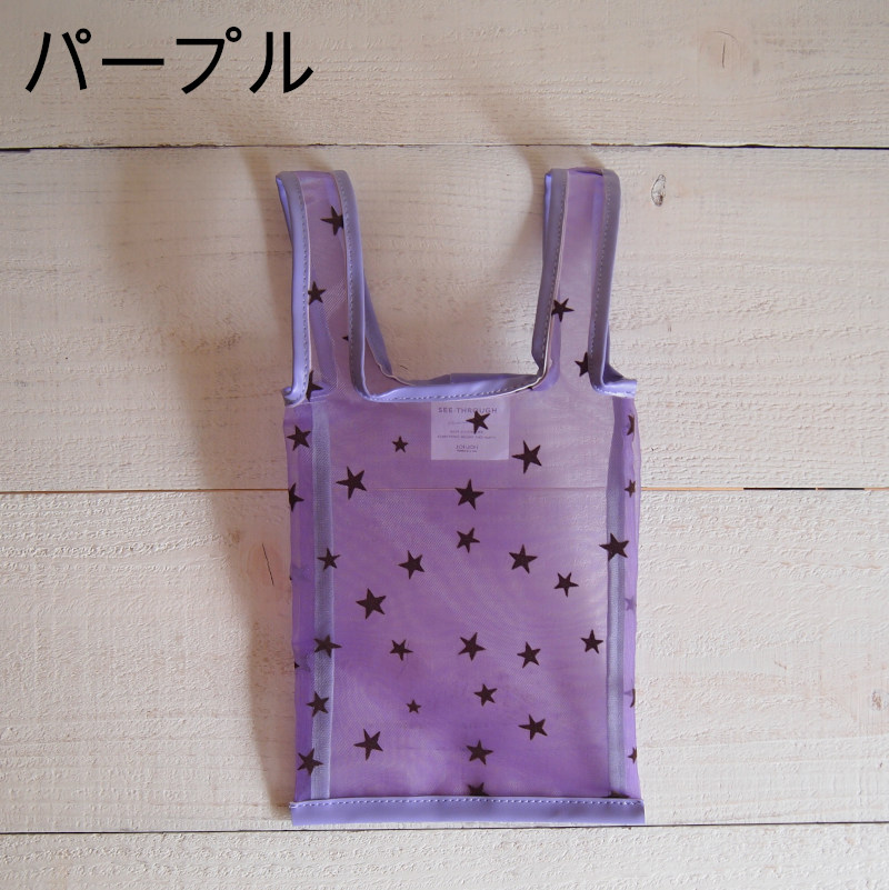 【JoliJoli】 シースルー トートバッグ