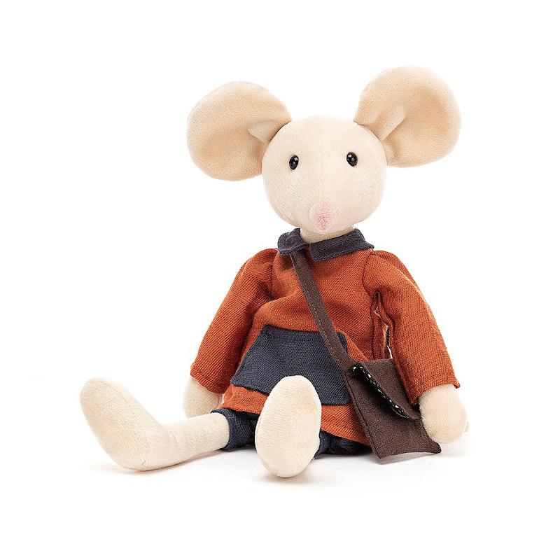 JELLYCAT Pedlar Mouse(PED3M) ぺドラー ねずみ ぬいぐるみ