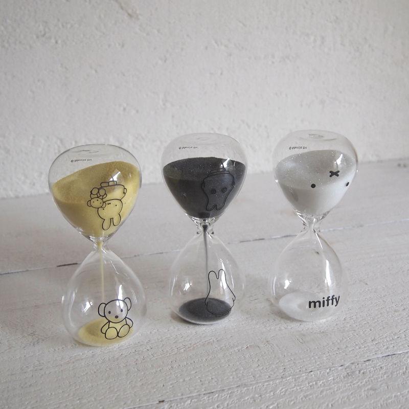 miffy ミッフィー Sandglass 砂時計 3分計
