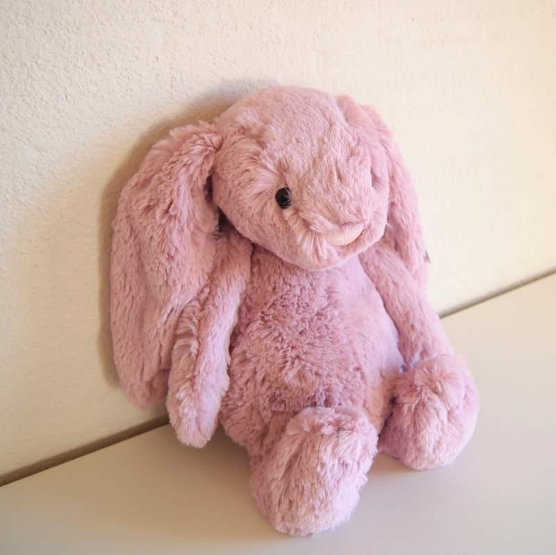 JELLYCAT Medium Bashful Tulip Pink Bunny(BAS3BTP) うさぎ ぬいぐるみ ピンク