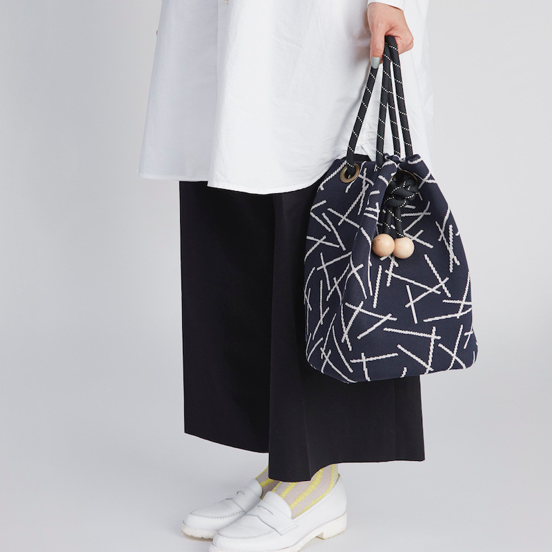 【TRICOTE】 トリコテ STICK BUCKET BAG