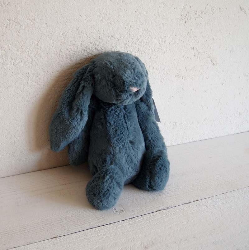 JELLYCAT Bashful Forest Bunny Medium(BAS3FB) うさぎ ぬいぐるみ フォレスト