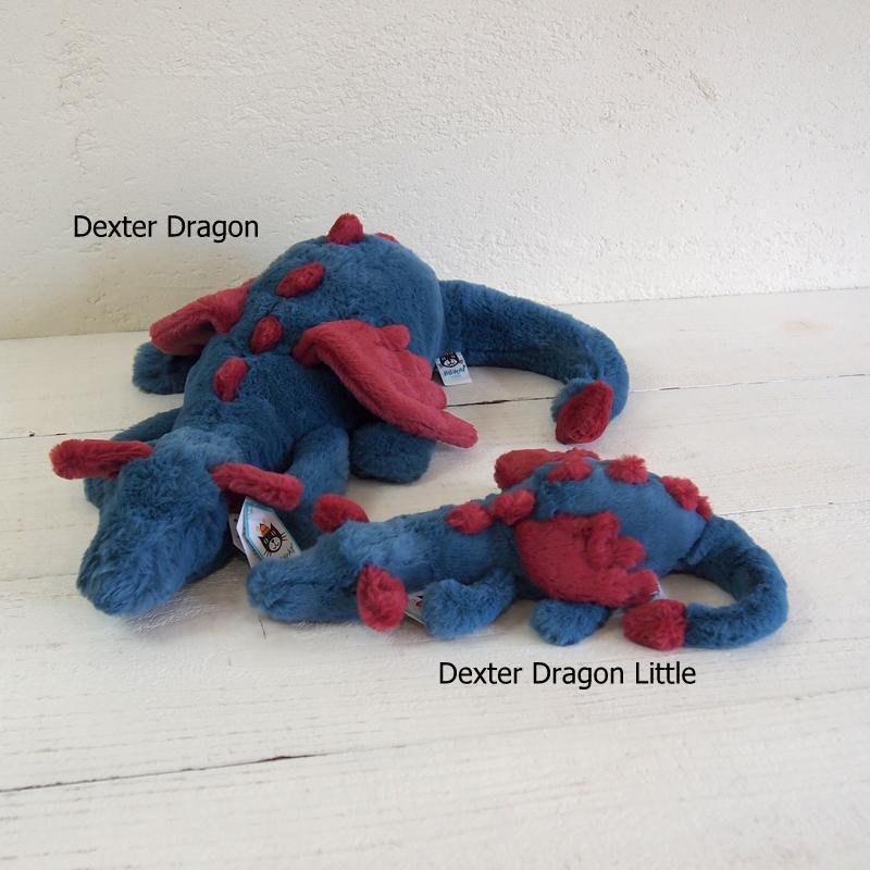 JELLYCAT Dexter Dragon Little (DEX6DDL) デクスタードラゴン ぬいぐるみ リトル