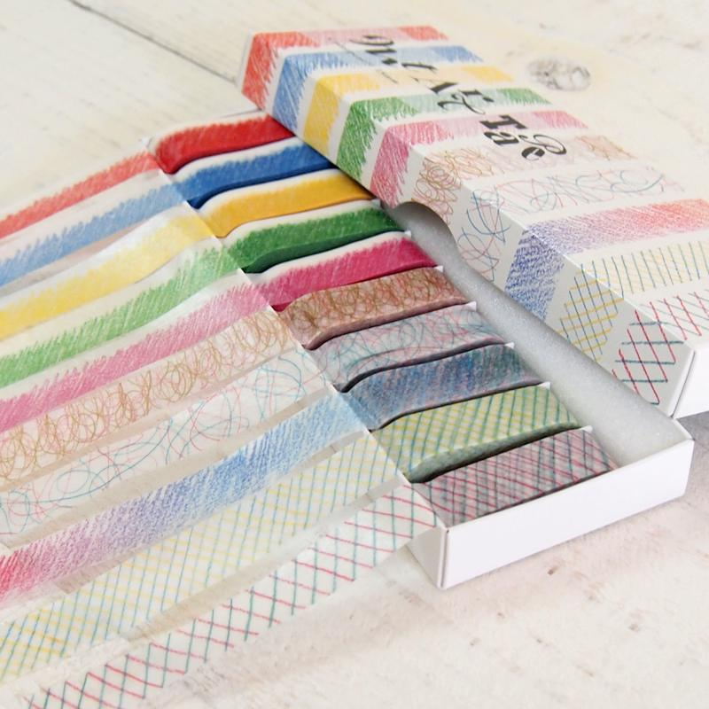 mt art tape アートテープ  / 色鉛筆 15mm幅セット