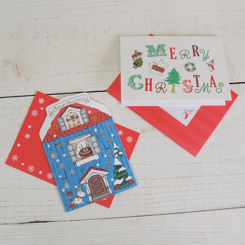 MOOMIN ムーミン クリスマス 立体カード