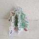 MOOMIN ムーミン クリスマス 立体カード / 仲間とそり遊び