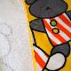 COCOWALK 【こぐまちゃんえほん】ループ付タオルハンカチ 【3枚までゆうパケット1通で発送可】