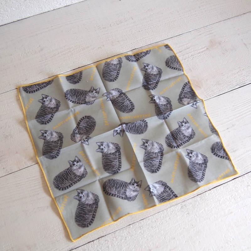 小池ふみ Koike Fumi Handkerchief ハンカチ  【ゆうパケット10枚まで1通で発送可】