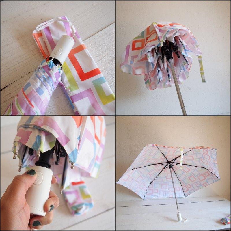 estaa エスタ Wジャンプ UV折りたたみ傘