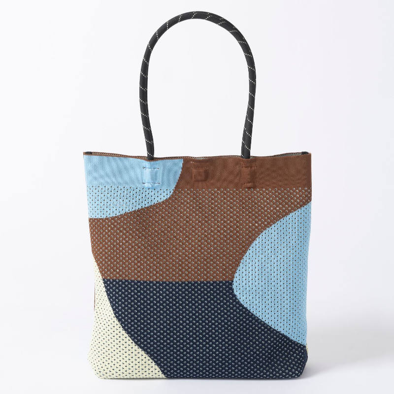 【TRICOTE】 トリコテ MESH COLORFUL TOTE BAG