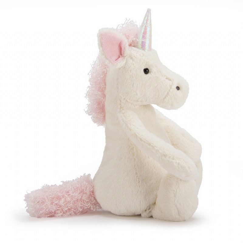JELLYCAT Bashful Unicorn Medium(BAS3UUS) ユニコーン ぬいぐるみ