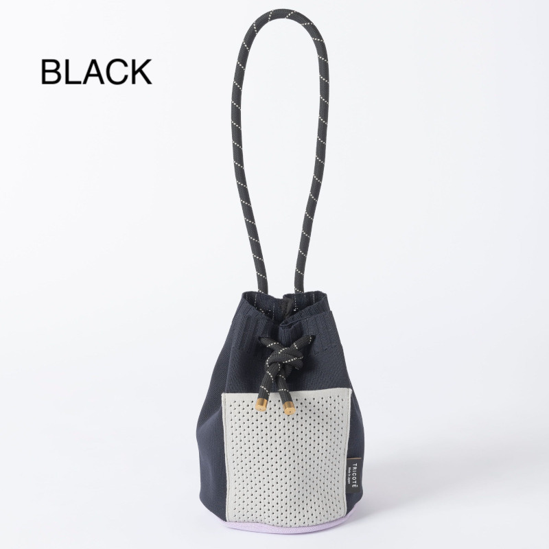 【TRICOTE】 トリコテ MESH POCKET HANDBAG