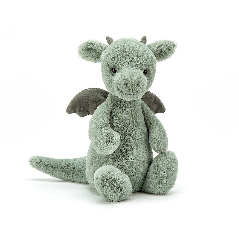 JELLYCAT Bashful Dragon Medium(BAS3DGN) ドラゴン ぬいぐるみ