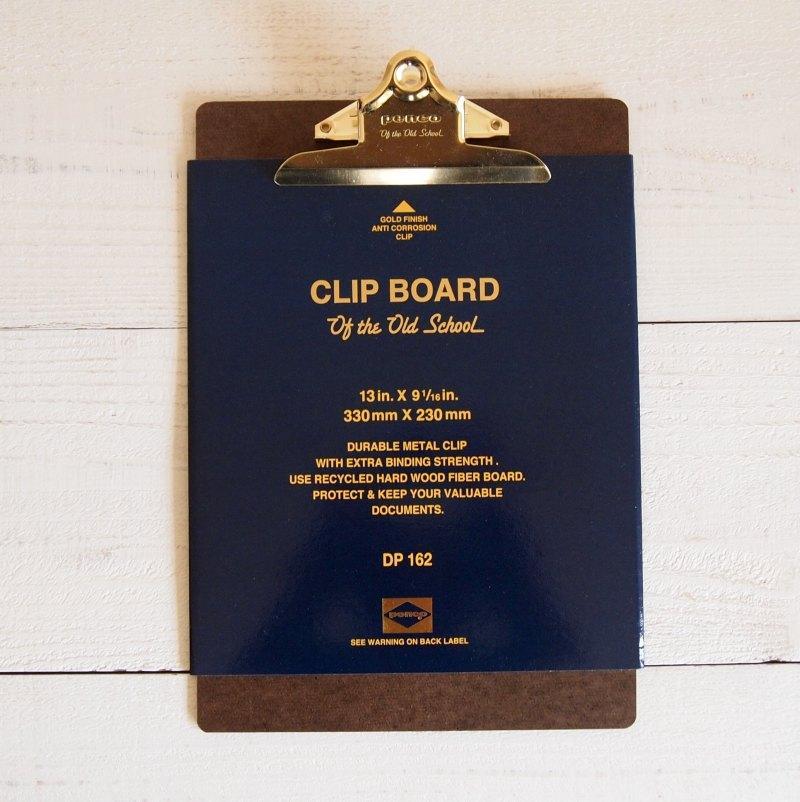 penco CLIP BOARD クリップボード オールドスクール / ゴールド A4