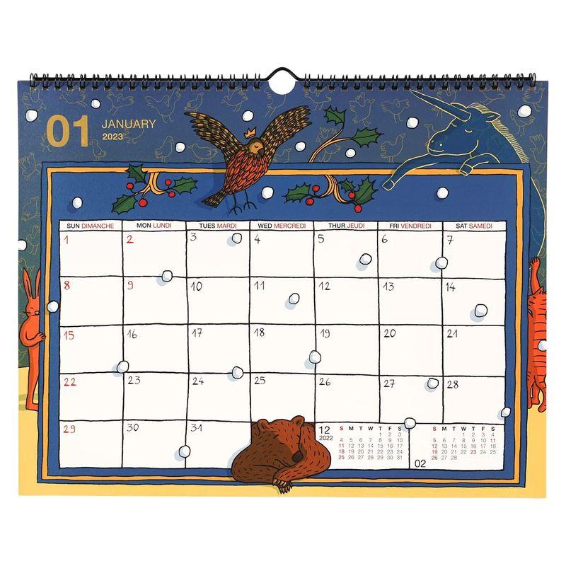 【2022年】 Jean-Vincent SENAC ジャン・ヴァンサン セナック 壁掛けカレンダー