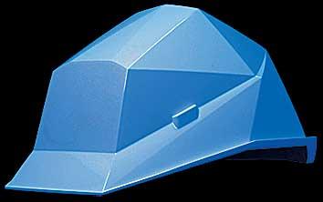 カクメット A-type(飛来・落下物用、電気用) ホワイトブルー