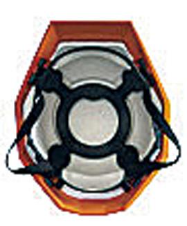 カクメット B-type(飛来・落下物用、墜落時保護用、電気用) レッド