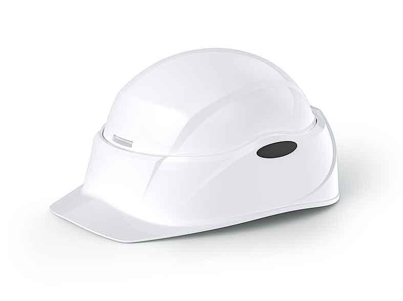 防災用ヘルメット「Cruboクルボ」 ブルー