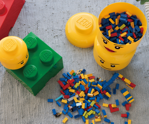 LEGO STORAGE HEAD LARGE(レゴ ストレージヘッド ラージ)