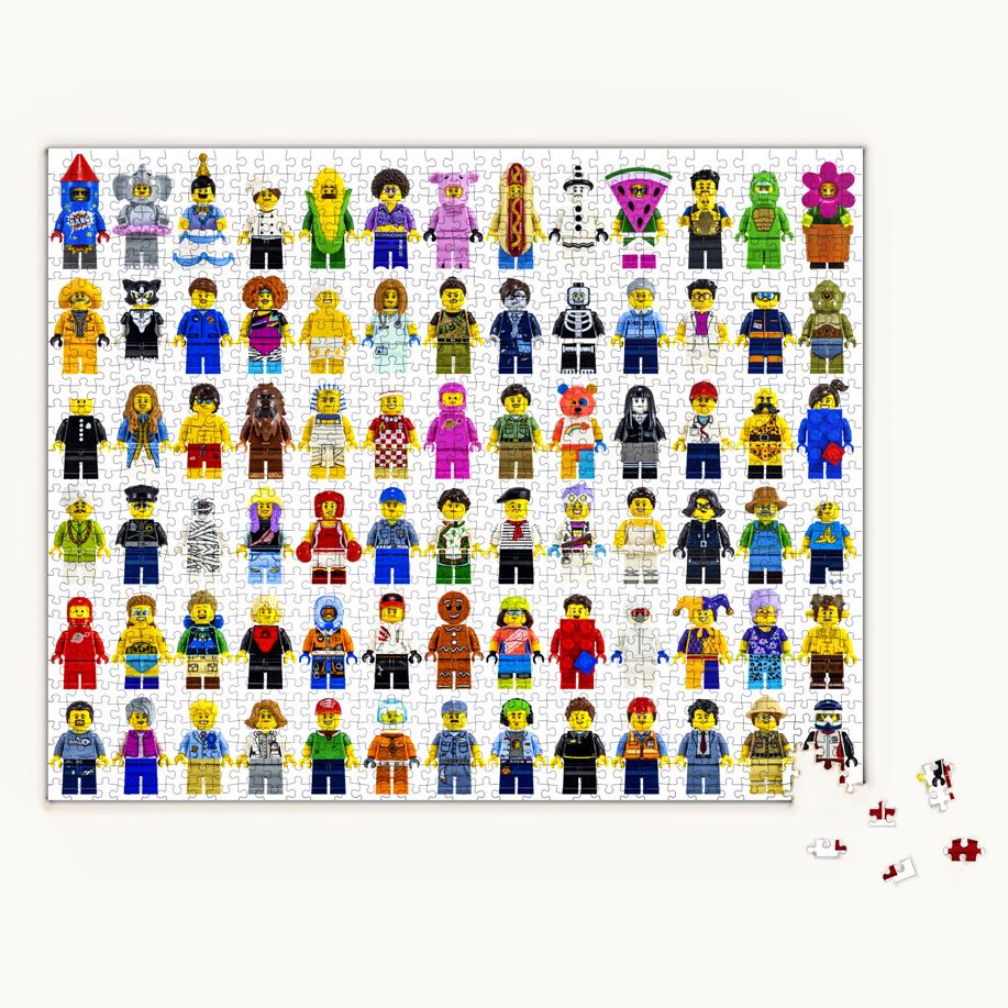 LEGO Puzzle 1000pcs (レゴ パズル 1000ピース)