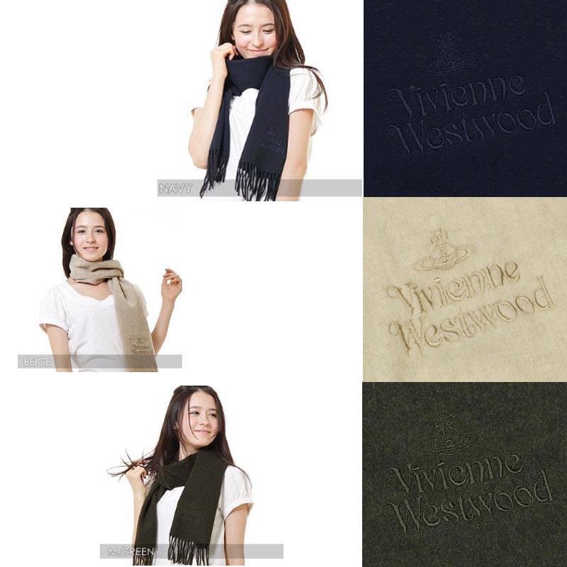 ◇◆◇ Vivienne Westwood ◇◆◇ ヴィヴィアンウエストウッド マフラー 3色