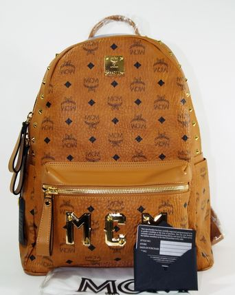 ◇◆◇ MCM ★ エムシーエム ◇◆◇ ミディアムバックパック STARK MMK4AVE31 CO001