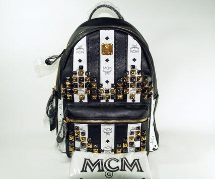 ◇◆◇ MCM ★ エムシーエム ◇◆◇ ミディアムバックパック MWK3SVG04EG