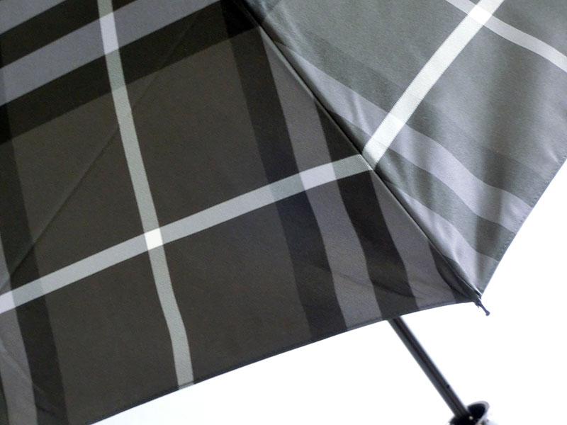 ◇◆◇ BURBERRY ★ バーバリー ◇◆◇ 折りたたみ傘 バーバリーチェック/ブラックグレイ レディース