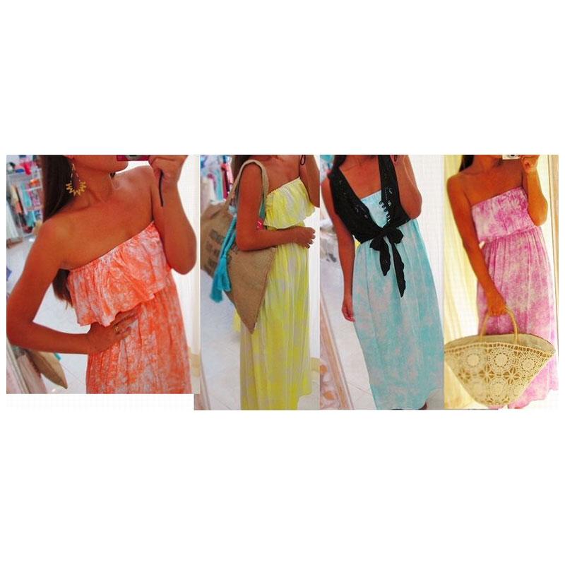 ◇◆◇ Casual ◇◆◇ フリルマキシ サマードレス