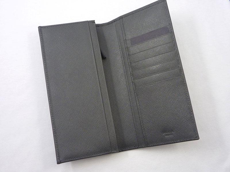 PRADA プラダ  2M0836 NERO 二つ折長財布