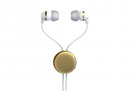 カナル型イヤホン VTH-IC021シリーズ ゴールド
