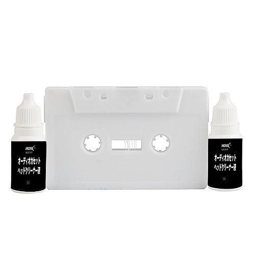 HIDISC オーディオカセットヘッドクリーナー (湿式) クリーニング液2本セット HDATCL10ML2