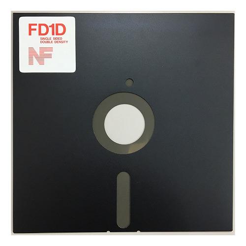 【アウトレット】NIPPON FLOPPY 8インチ フロッピーディスク 片面倍密度 250KB 10枚パック FD1D