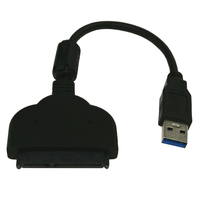 2.5インチ専用 SATA-USB3.0  SSD/HDD用 変換ケーブル ノイズフィルター付き VVD-U3SATANR