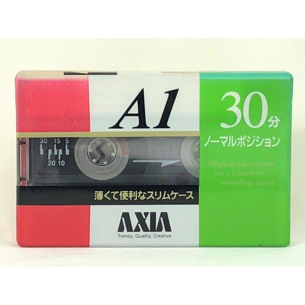 【アウトレット】 アクシア AXIA カセットテープ A1 30分 ノーマルポジション A1SB 30