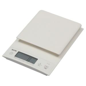 *受発注*タニタ デジタルクッキングスケール 3kg ホワイト KD-320-WH 1台