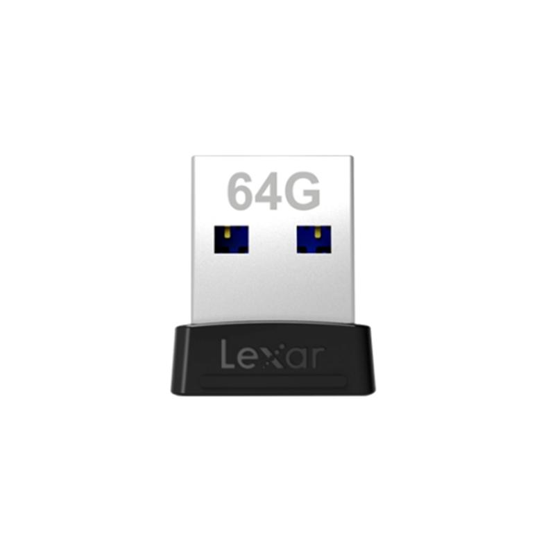 最大読込速度:250MB/秒 Lexar USB 3.1 Jump Drive S47 USBフラッシュドライブ 64GB LJDS047064G-BNBNJ