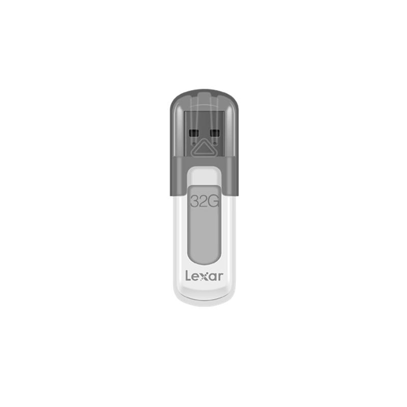最大読込速度:100MB/秒 Lexar USB 3.0 フラッシュドライブ 32GB ホワイト キャップ式 LJDV100032G-BNHNJ
