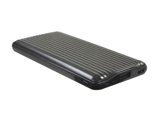 10000mAH モバイルバッテリー 2ポート USB&TYPE-Cケーブル付き