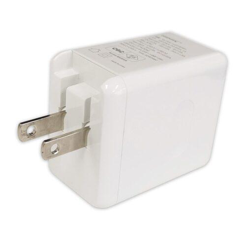 HIDISC USB PD対応 Type-C/A 32W AC充電器 ML-PDC1U2P32WH
