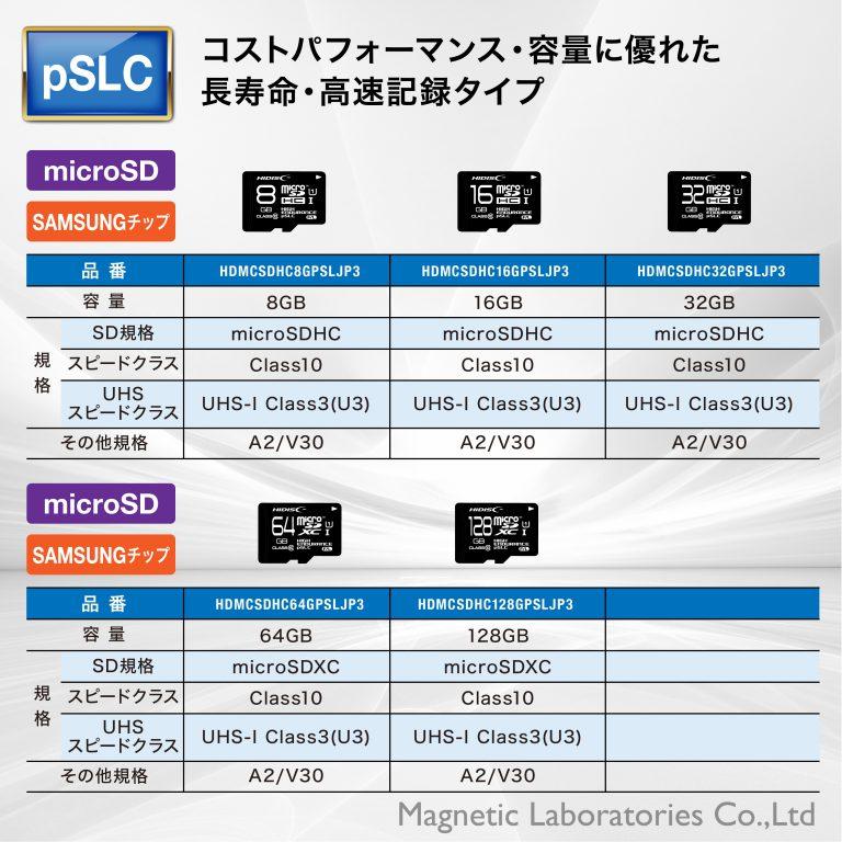 HIDISC SLC採用高耐久 microSDカード TOSHIBAチップ採用 HDMCSD2GSLPJP3