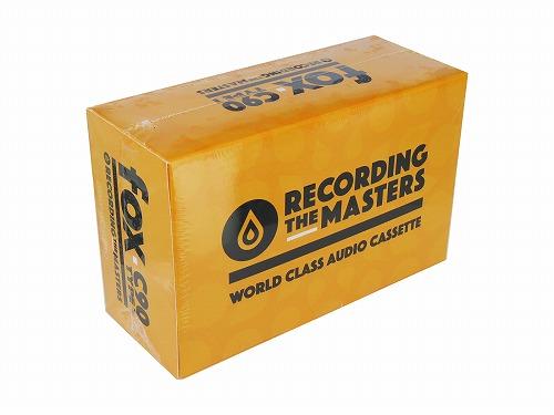 【RECORDING THE MASTERS】音楽用 カセットテープ TYPE-1 ノーマルポジション 90分 (片面45分録音) 10巻パック  フランス製