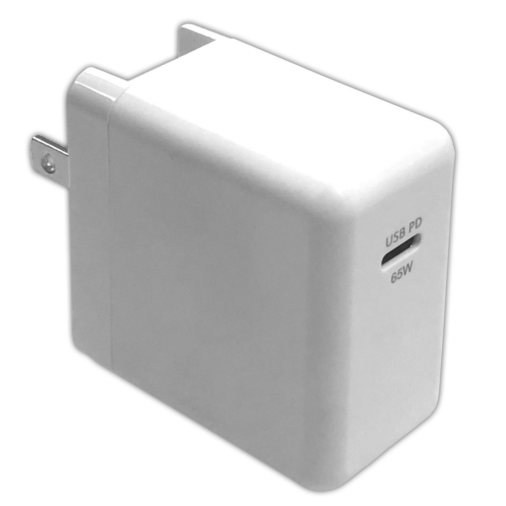 GaN(窒化ガリウム)採用 PD3.0 Type-C 65W AC充電器