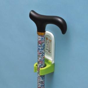 *受発注* ユーワ 転ばぬ杖コンフォート(簡易包装) 杖ホルダー K2600CS-F 1個
