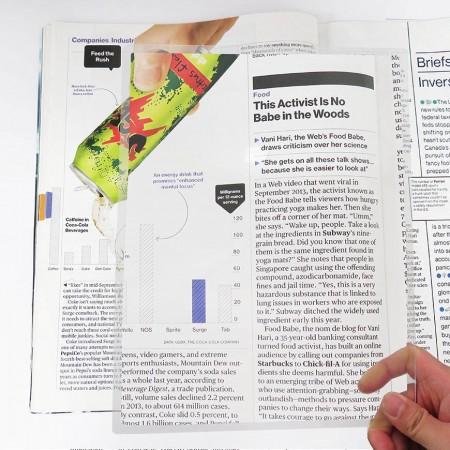 HIDISC  A4サイズのフルページを2倍に拡大可能 A4サイズアクリルフレネルレンズ拡大鏡 HD-AA200SHEETA4