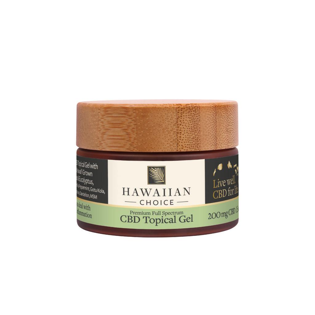 HAWAIIAN CHOICE CBDトピカルジェル (化粧品)Relief