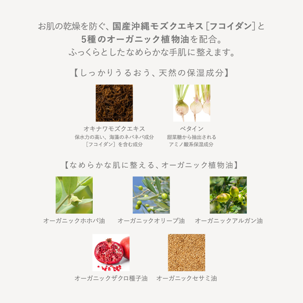 【hana to mi】ハンドクリーム kikka