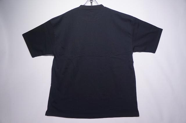 【ALORE】RELAX POCKET TEE -BLACK-