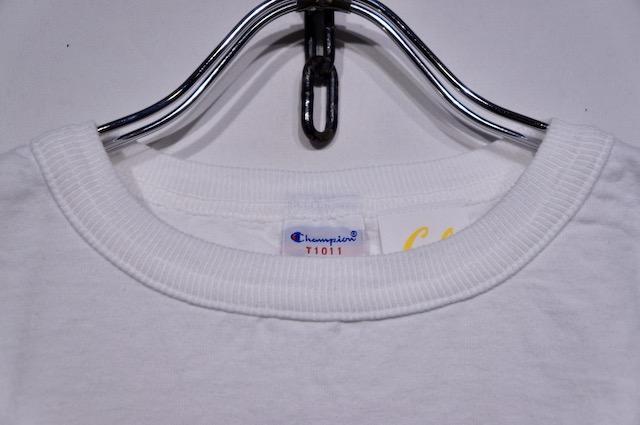 【CHAMPION】 T1011 PRINT TEE -WHITE- C5-T305