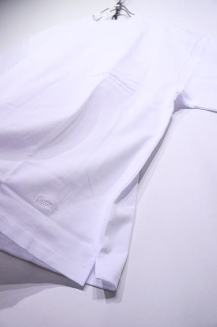 【ALORE】RELAX POCKET TEE -WHITE-
